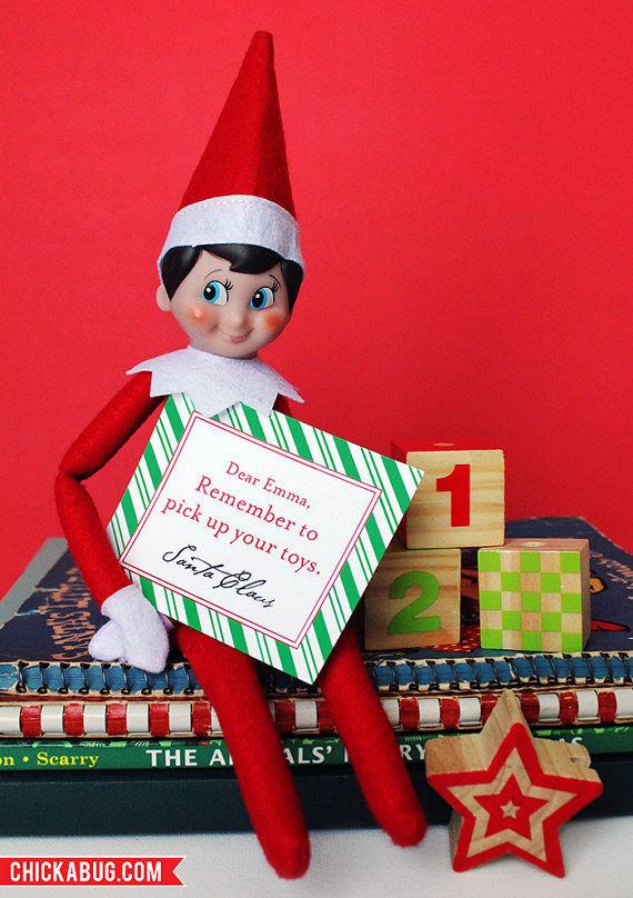 Notes from Santa.