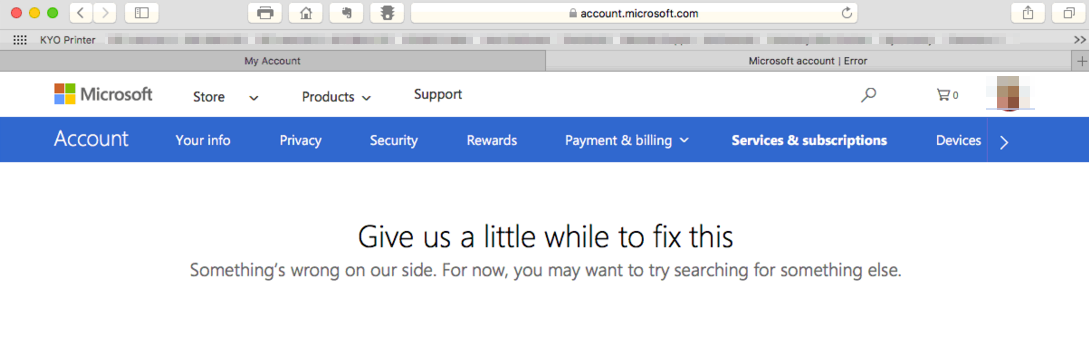 QTIP: Is Microsoft Store on the fritz? | QTIPS for Your