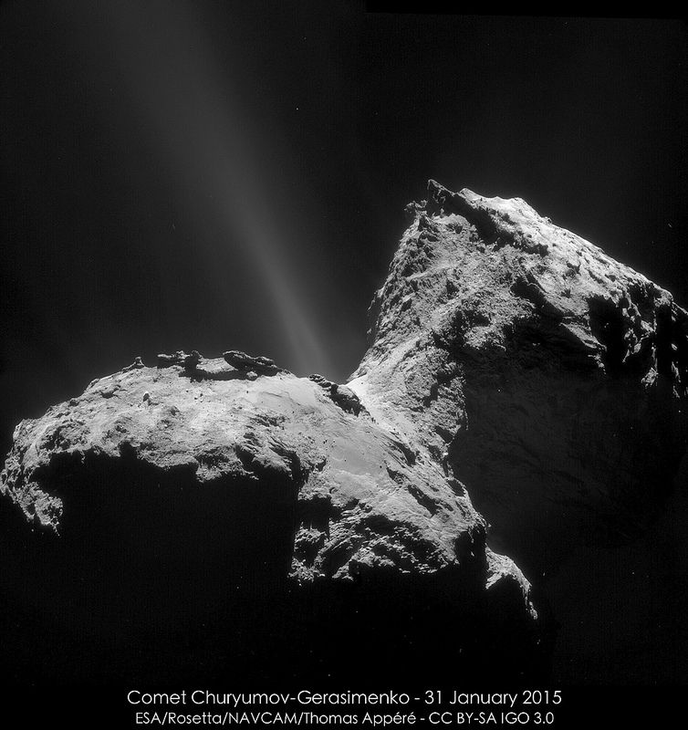 Comet Churyumov-Gerasimenko - 31 January 2015 - Thomas Appéré