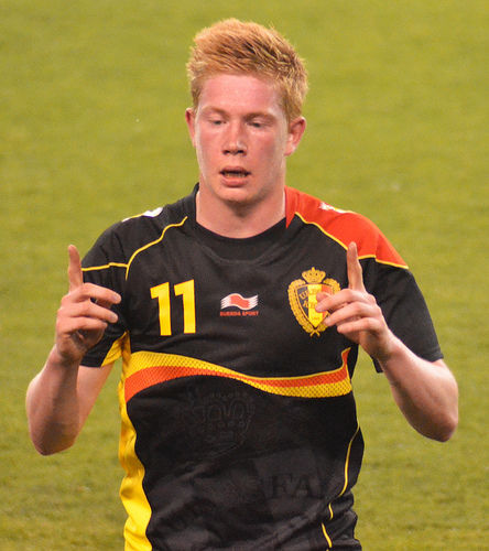 Kevin De Bruyne by EDrost88, on Flickr
