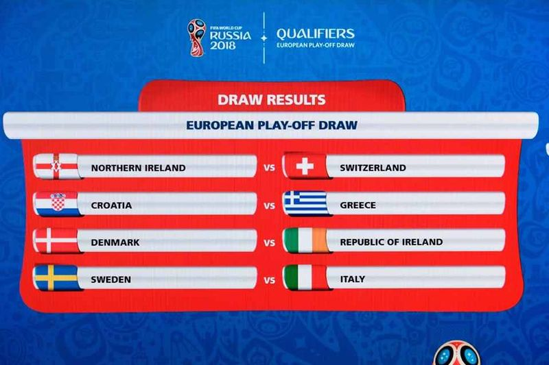2018 World Cup Play-off draw