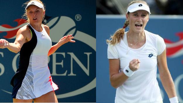 TENNIS - US Open - Wozniacki v Makarova - Wozniacki leads 7-0