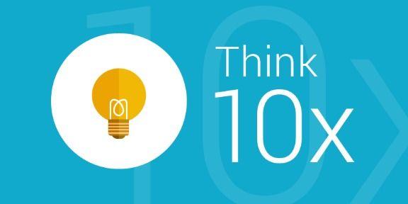 Innovation think 10x