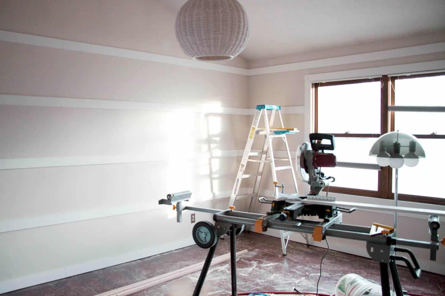 How to Make a Board and Batten Wall
