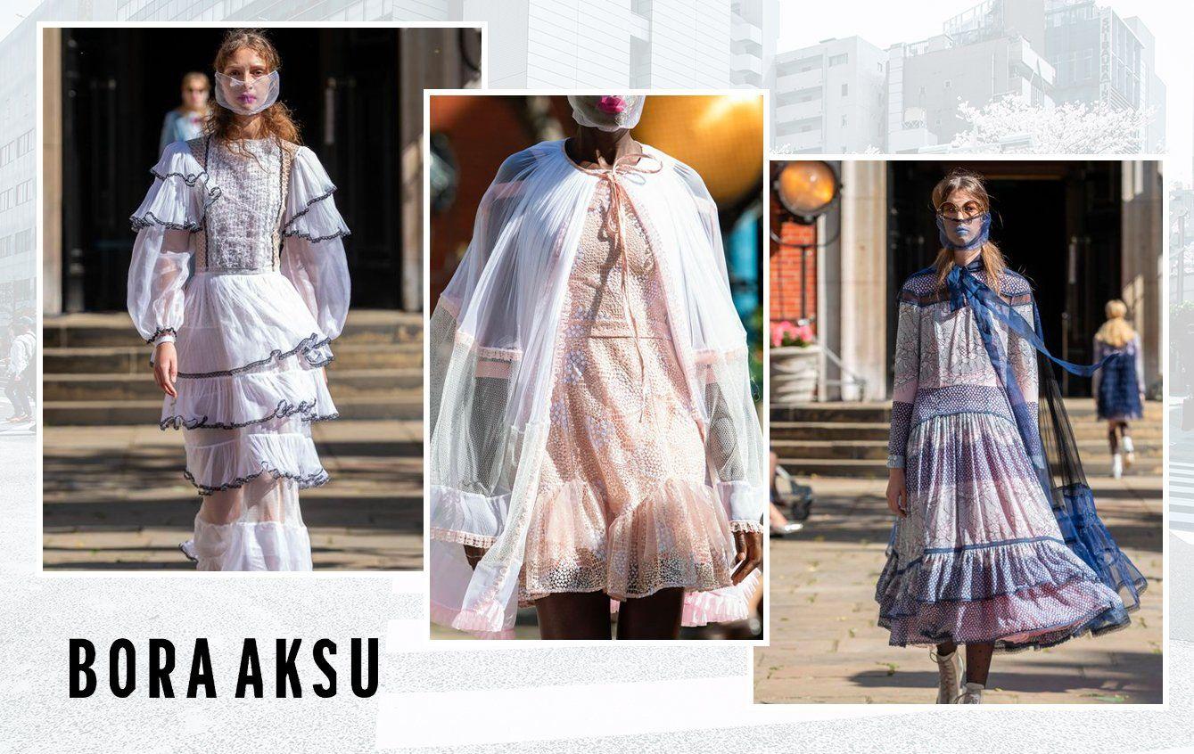 Bora Aksu fashion week 2021