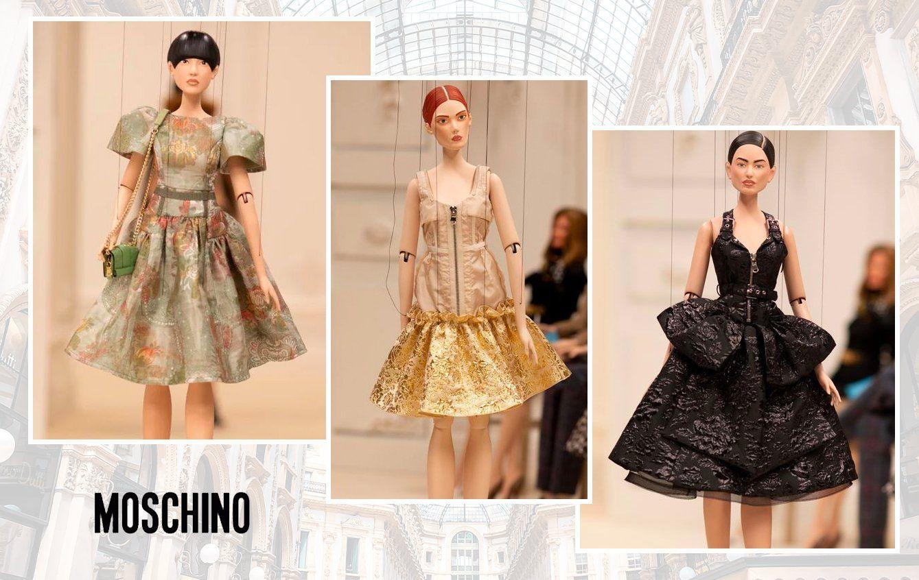 Moschino Fashion show 2021