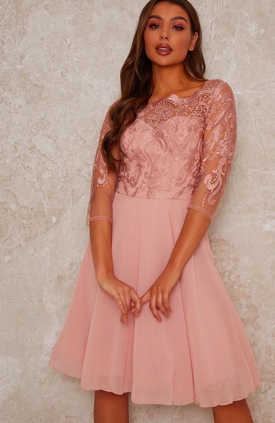 Lace Midid Dress