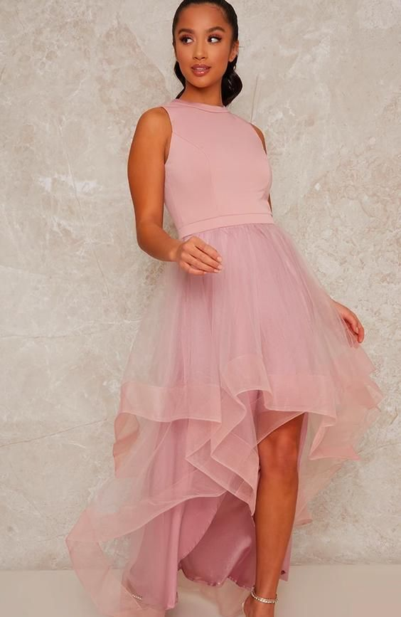 Petite Dip Hem Dress