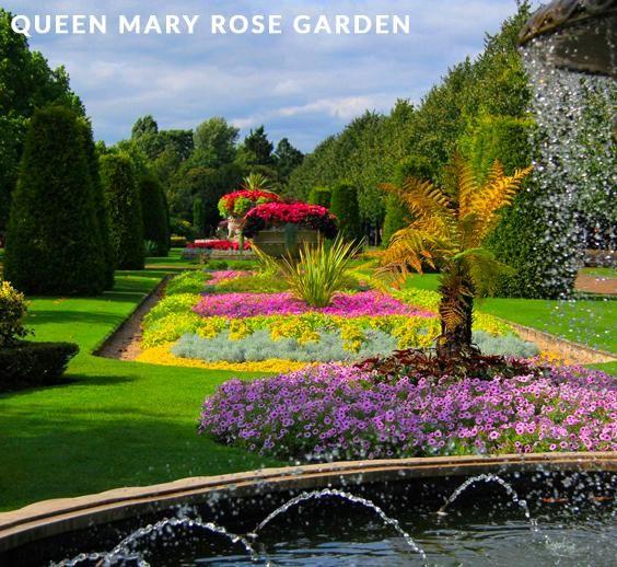 Queen Mary Rose Garden, Regents Park