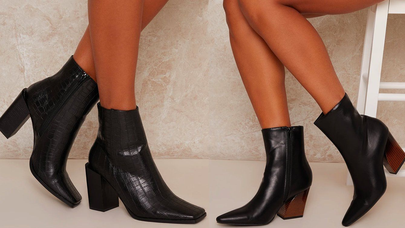 Chi Chi Black Boots