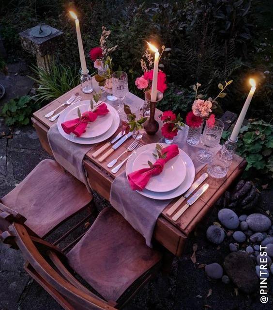 Romantic Garden Set up