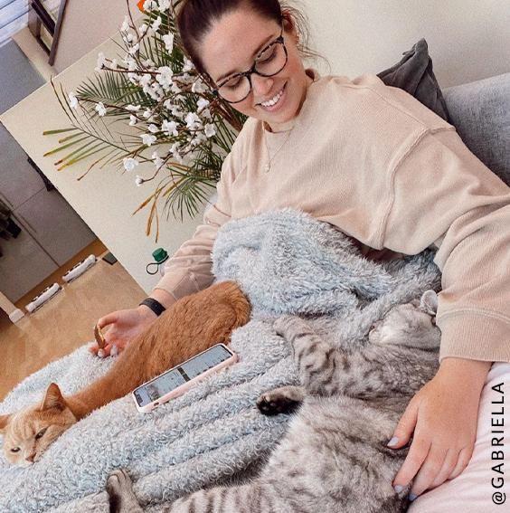 Cat Cuddles with Gabriella