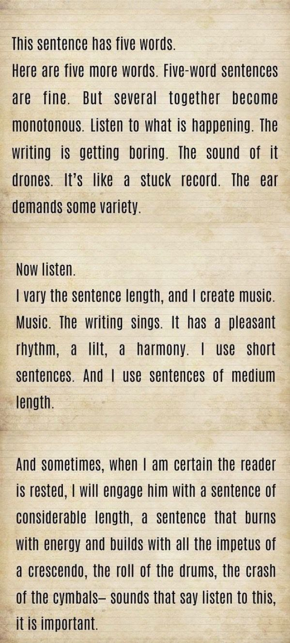 Words Can Be Like Music | EGWolfe