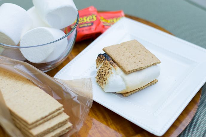 how to make reese's s'mores