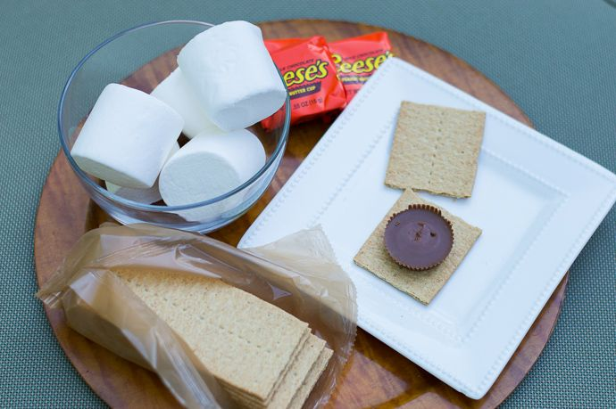 reese's peanut butter s'more recipe