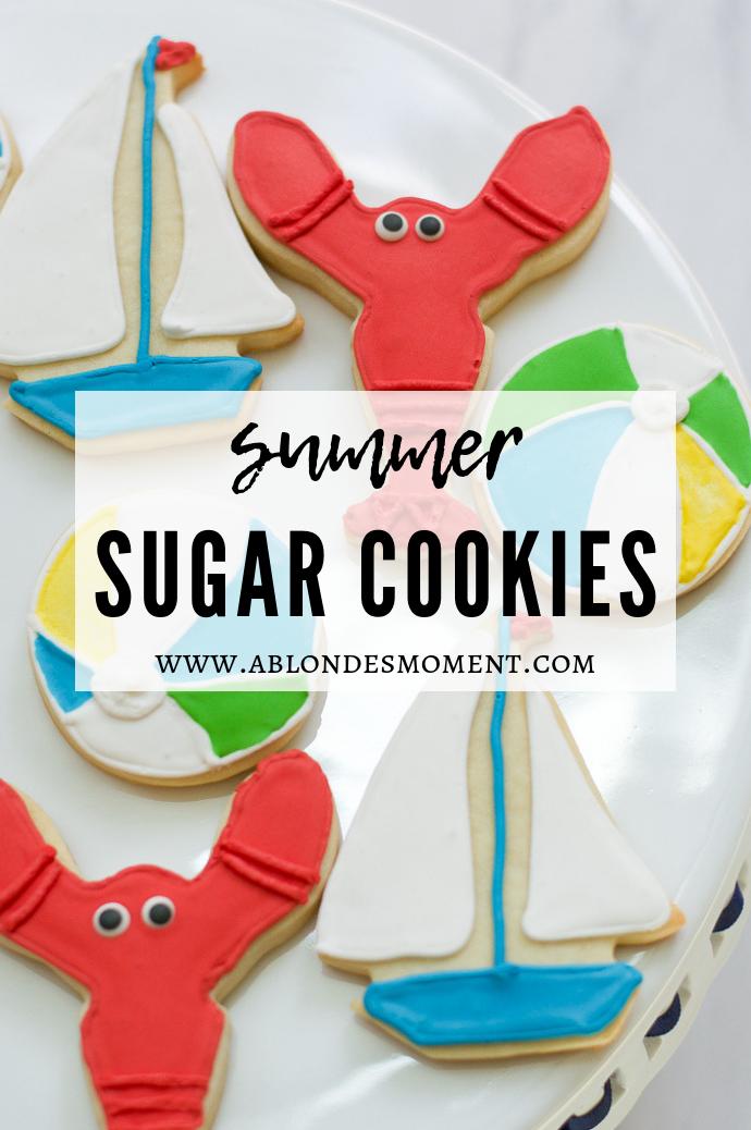 summer sugar cookies