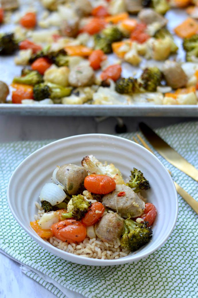 sheet pan dinner recipe