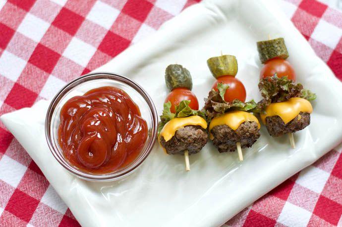 cheeseburger kabob recipe