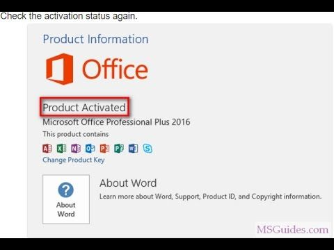 how to change office product key