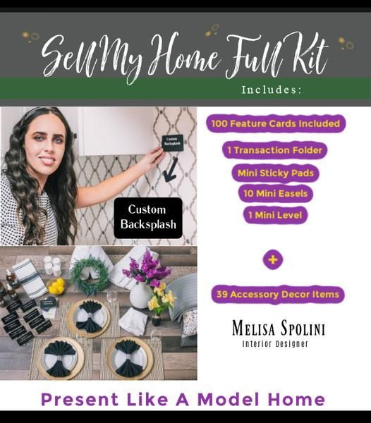'Sell My Home' Staging Kit from Interior Designs To Go