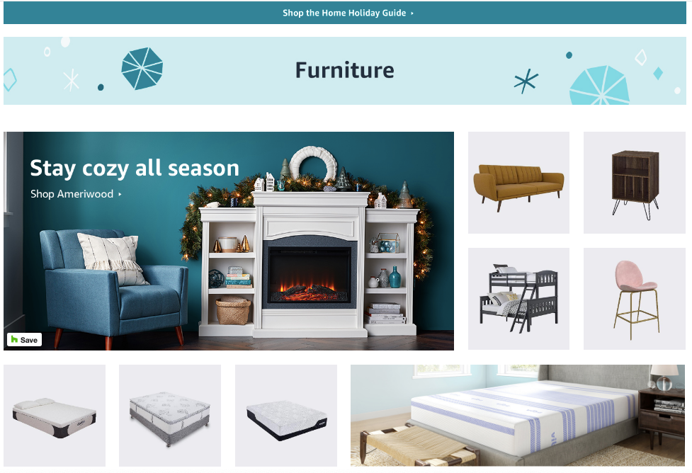 Home Holiday Guide: Amazon Furniture Finder
