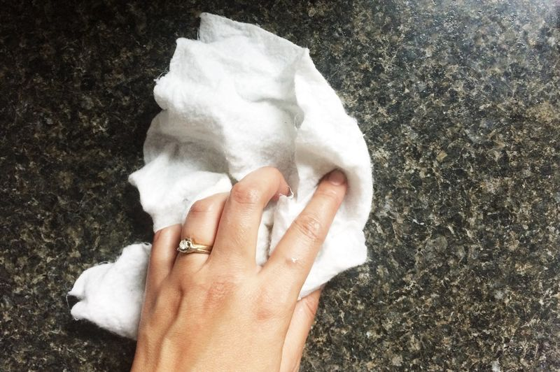 Image result for paper towels at hand in case of spills