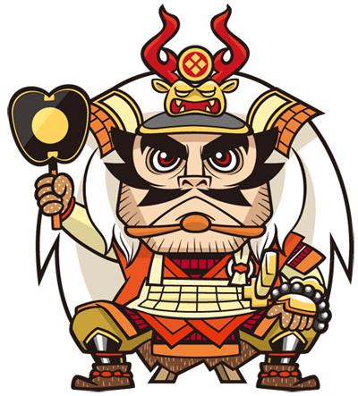 2010年/戦国武将占いキャラクターデザイン/CAMIYU Inc. | トリバタケ ...