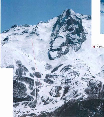 Vista del emplazamiento del emplazamiento del nuevo Telesilla del Z