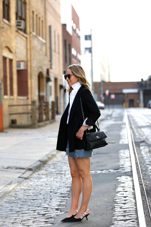 Chanel Trendy CC Bag, Dior Slingbacks, Helena Glazer of Brooklyn Blonde