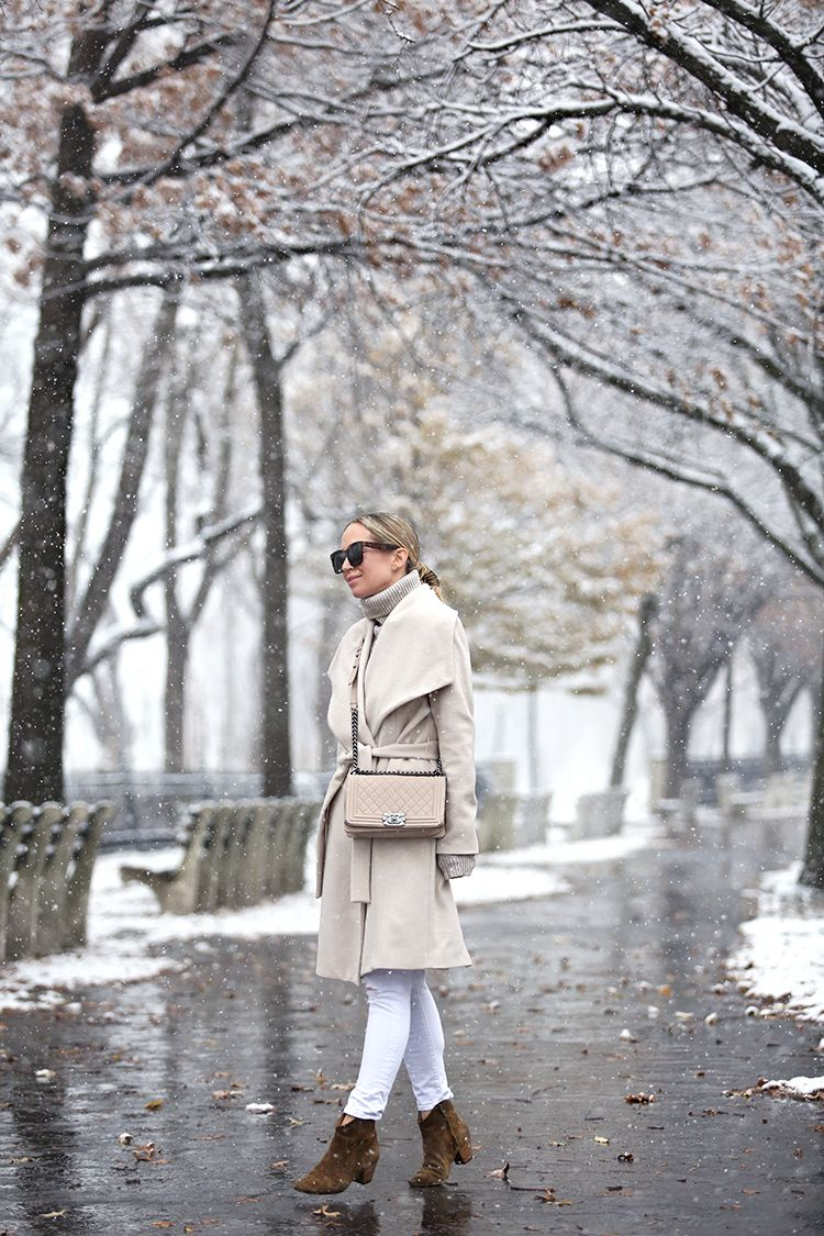 Monochromatic Outfit, Winter Style Inspiration, Helena of Brooklyn Blonde