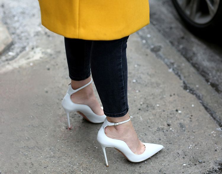 Aquazzura Heels, Helena of Brooklyn Blonde