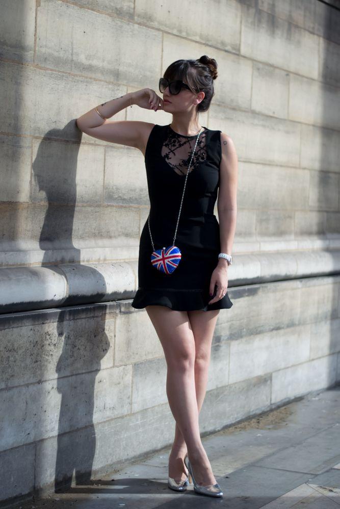Chic Parisian style, Look, blogger, Meet me in paree, Little black dress