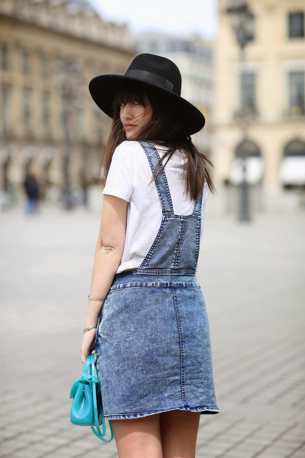 Dungaree style