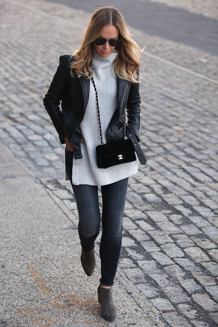 Fall Outfit Inspiration, Chelsea Ankle Boots, Helena of Brooklyn Blonde