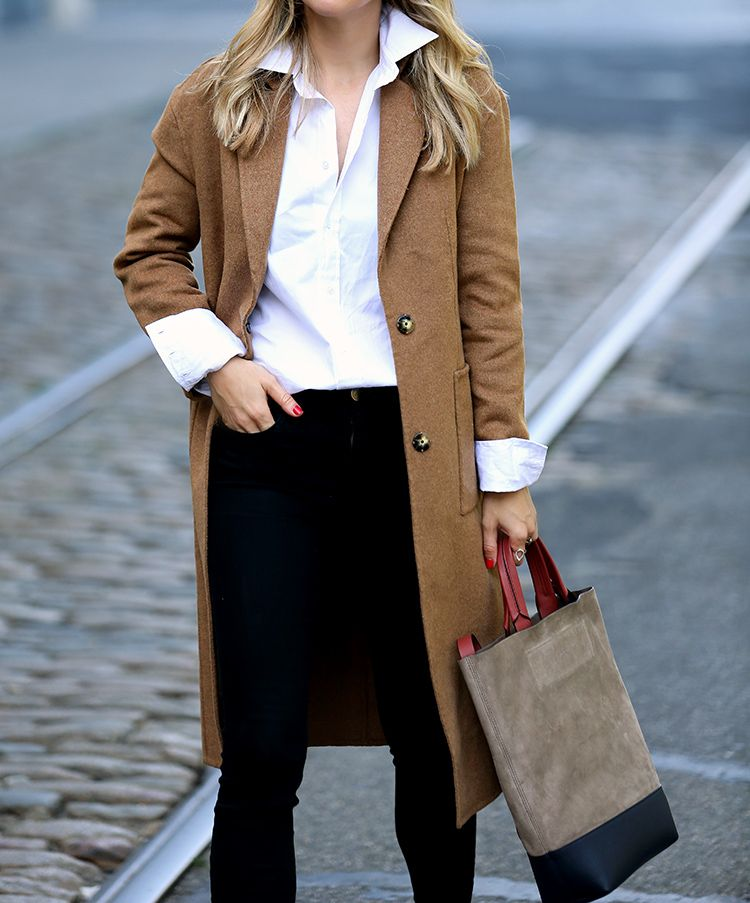 Fall/Winter Outfit Inspiration, Camel Coat, Helena of Brooklyn Blonde