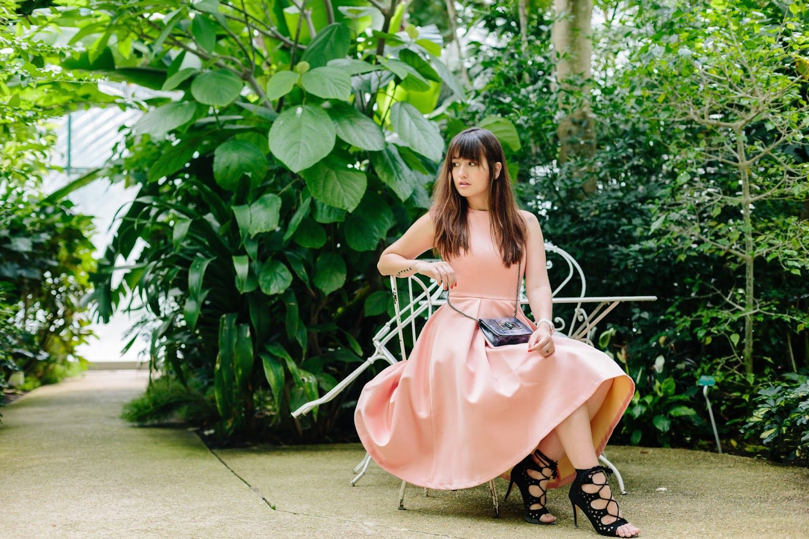 Paris botanical garden, Look, Summer look, Chicwish, Chic style