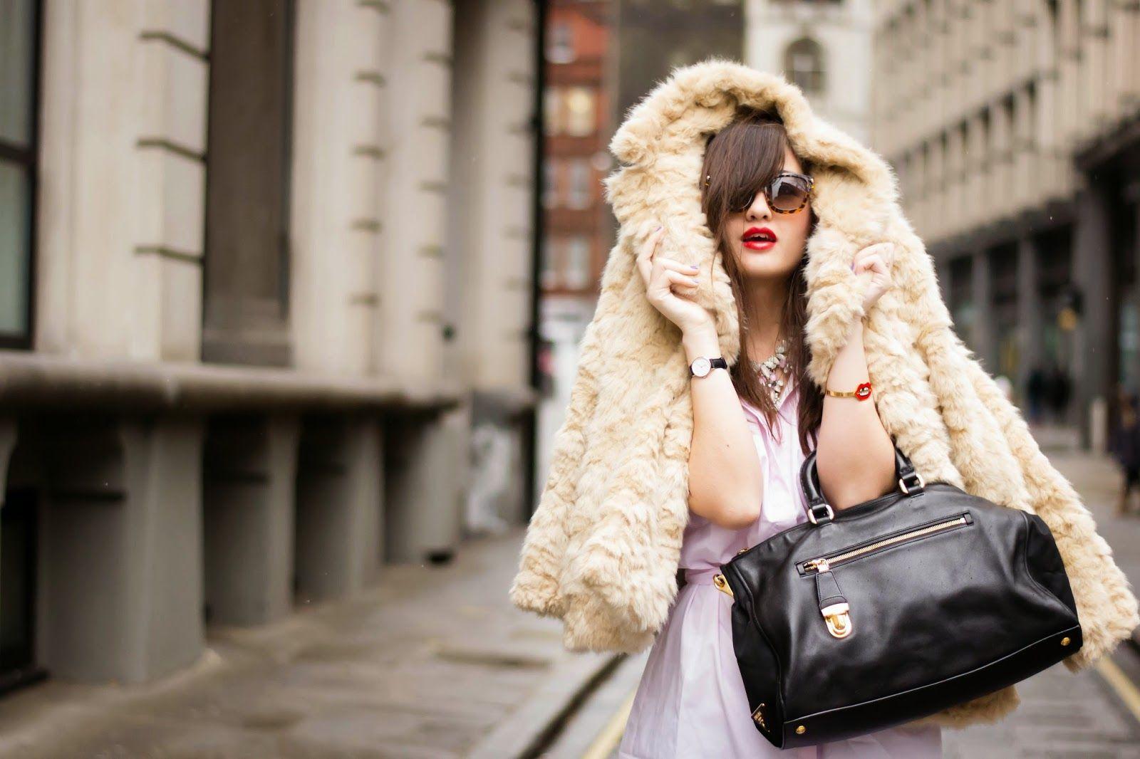 British fashion blogger