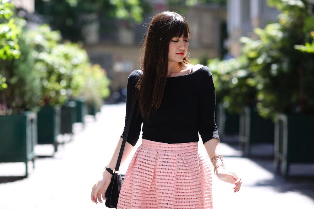 Fashion blogger a paris