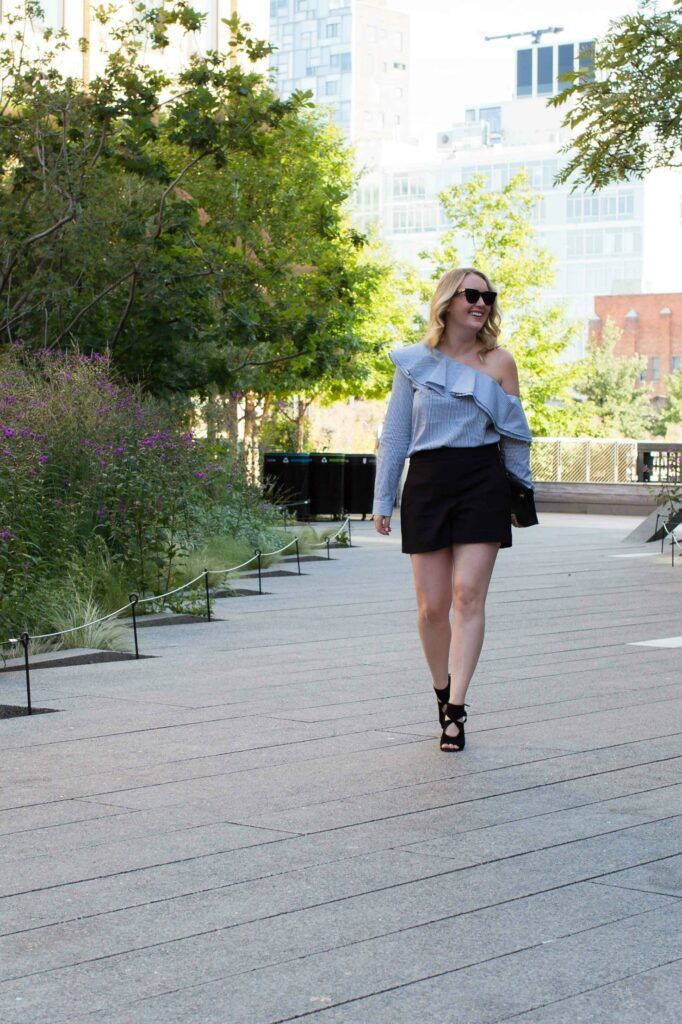 One Shoulder Top + Shorts I wit & whimsy