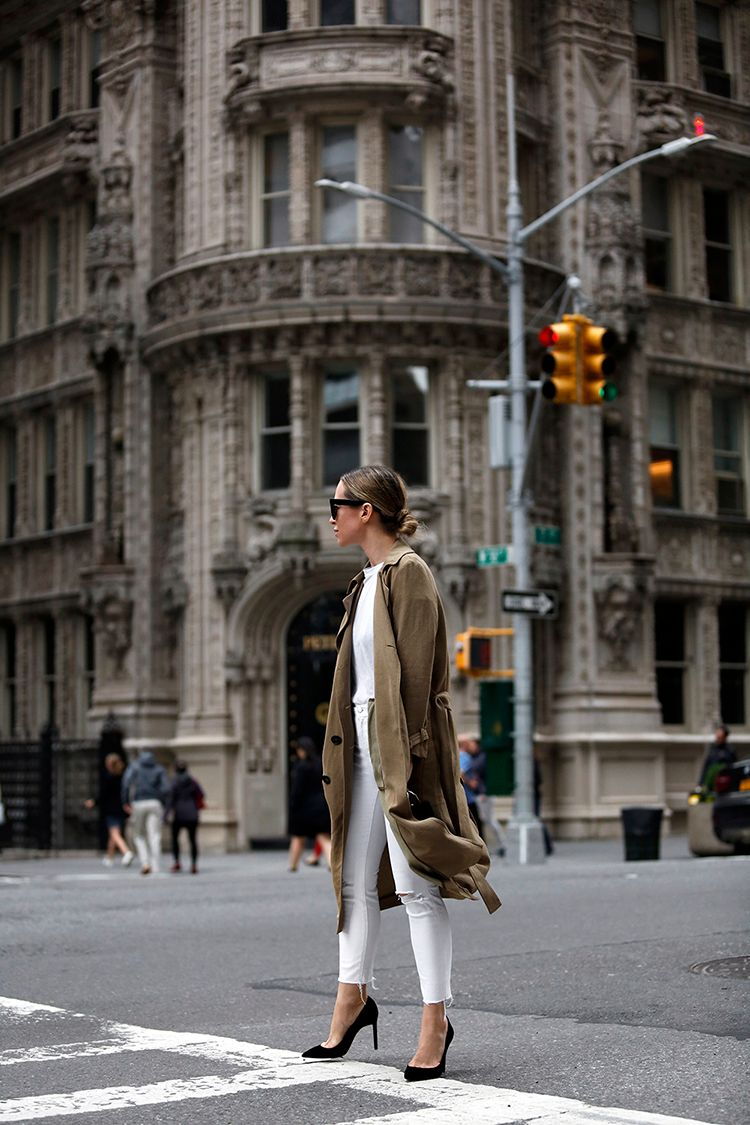 Monochromatic Outfit, Helena of Brooklyn Blonde