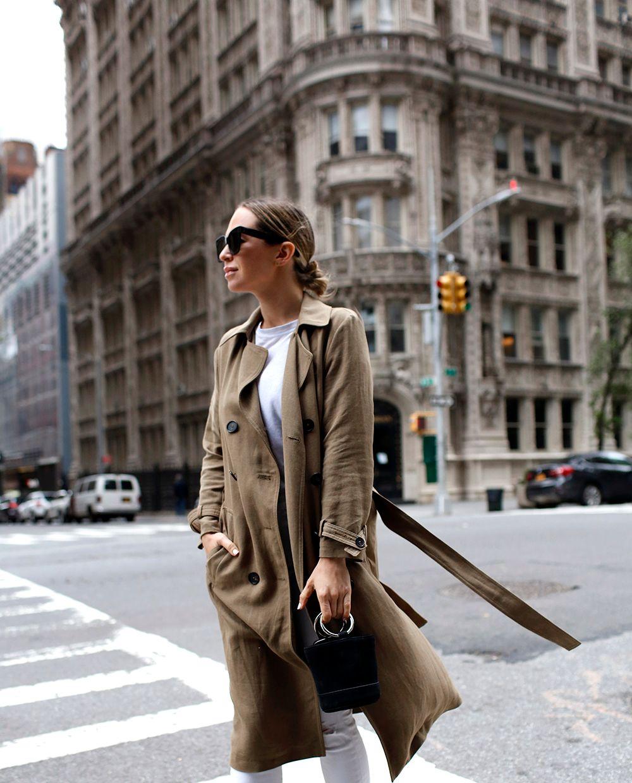 Trench Coat, Helena of Brooklyn Blonde