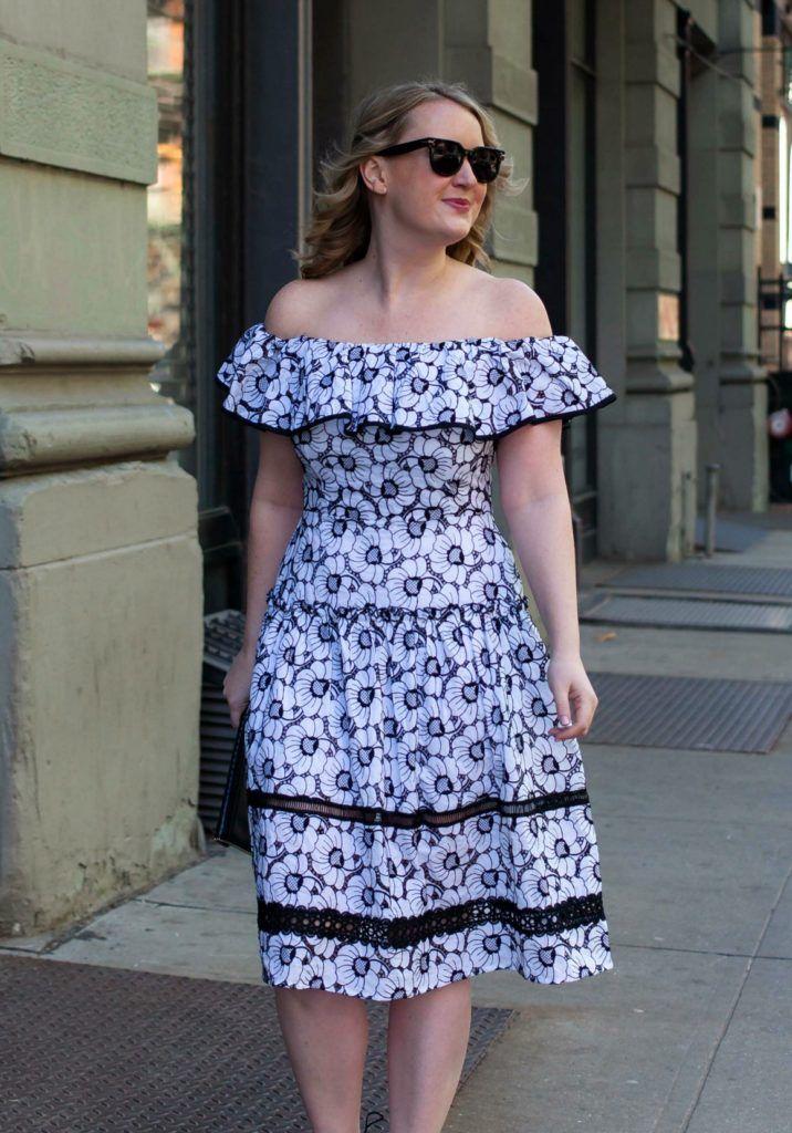 Nicholas Dress on Meghan Donovan of wit & whimsy