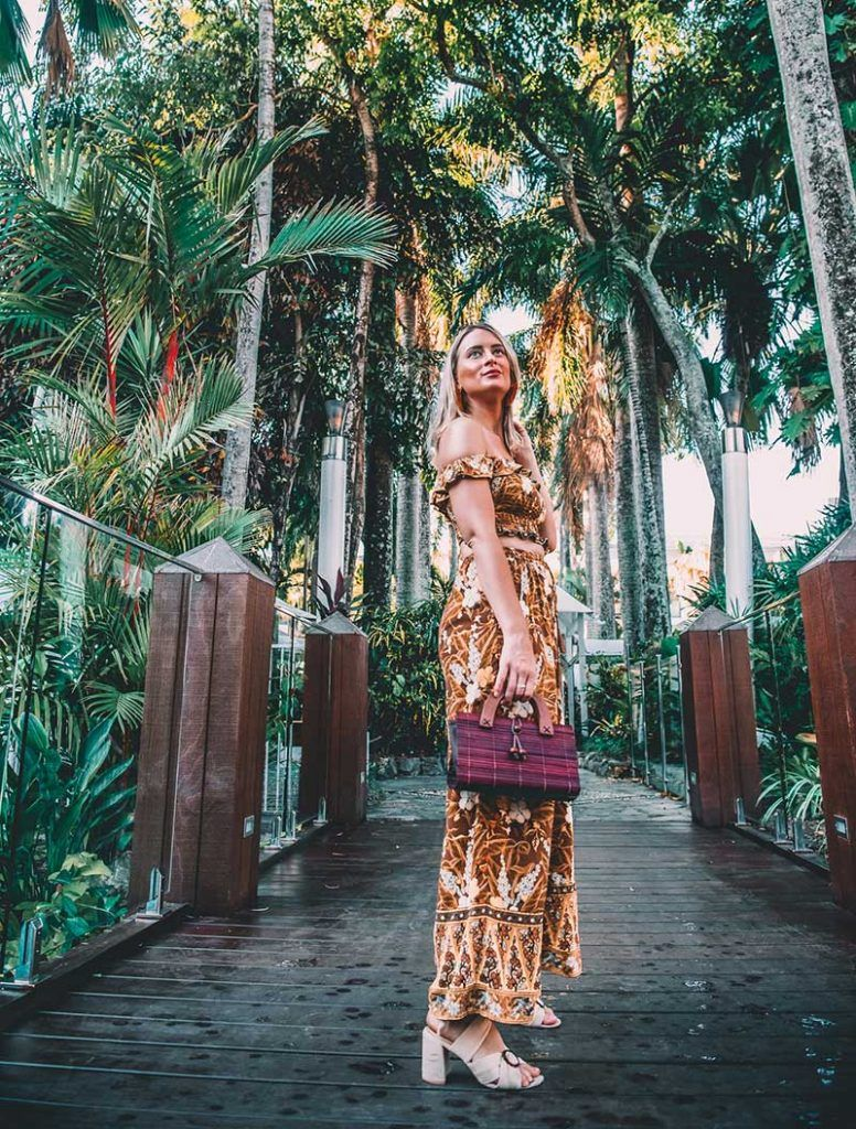 cairns fashion blogger rachel holliday wears spell bianca ruched cami spell bianca pants