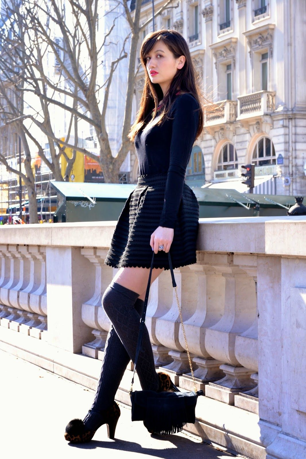 All black outfit