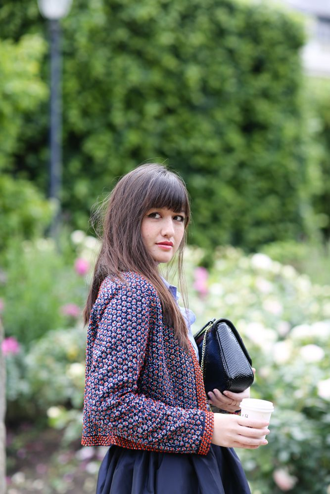 Fashion bloggers in Paris