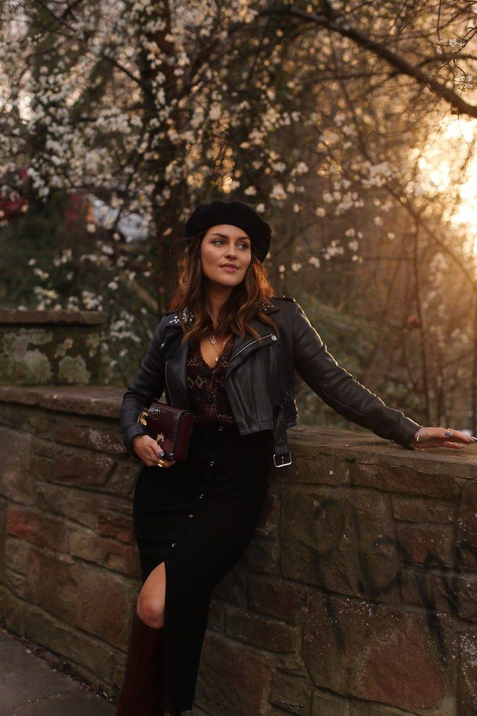 The Little Magpie Maje studded cropped leather jacket 2