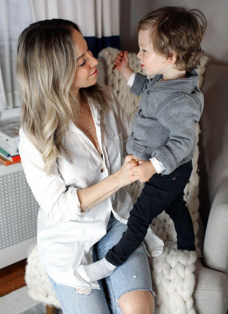 Aveda Invati Advanced, Post-Natal Haircare, Motherhood, Helena of Brooklyn Blonde