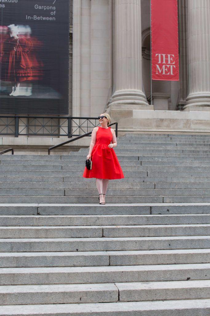 Meghan Donovan of wit & whimsy wears Kate Spade New York