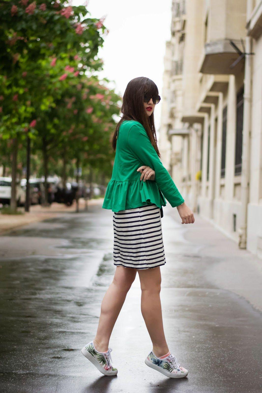 Womenwear blogger