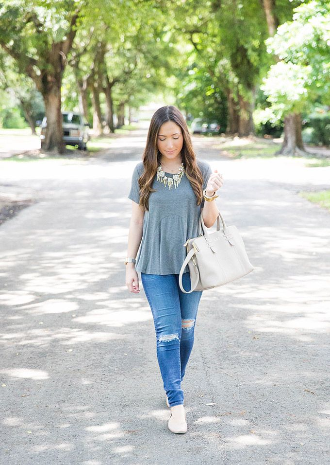 casual-blush-and-gray-outfit